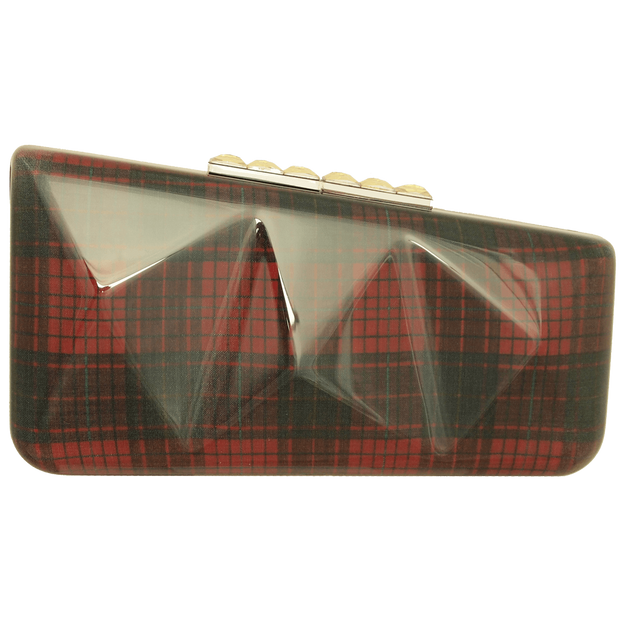 Minaudière in Tartan Plaid Red - 72 Smalldive