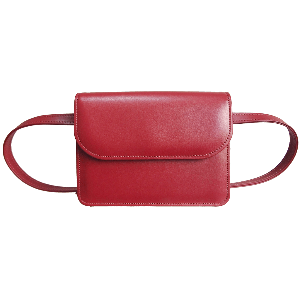 Buffed Leather Belt Pouch-Handbag-72 Smalldive