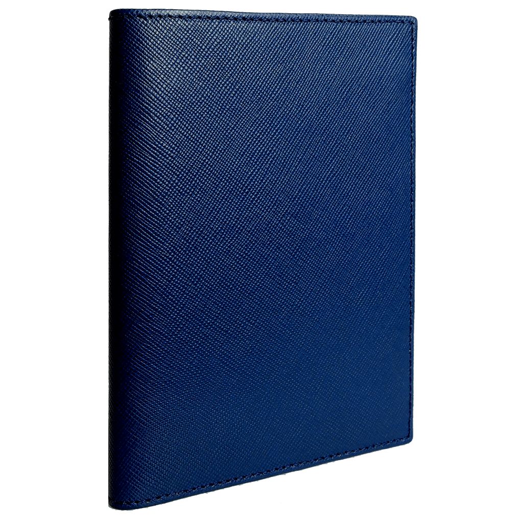 Saffiano Bi-Colored Passport Sleeve-Corporate Gift-72 Smalldive