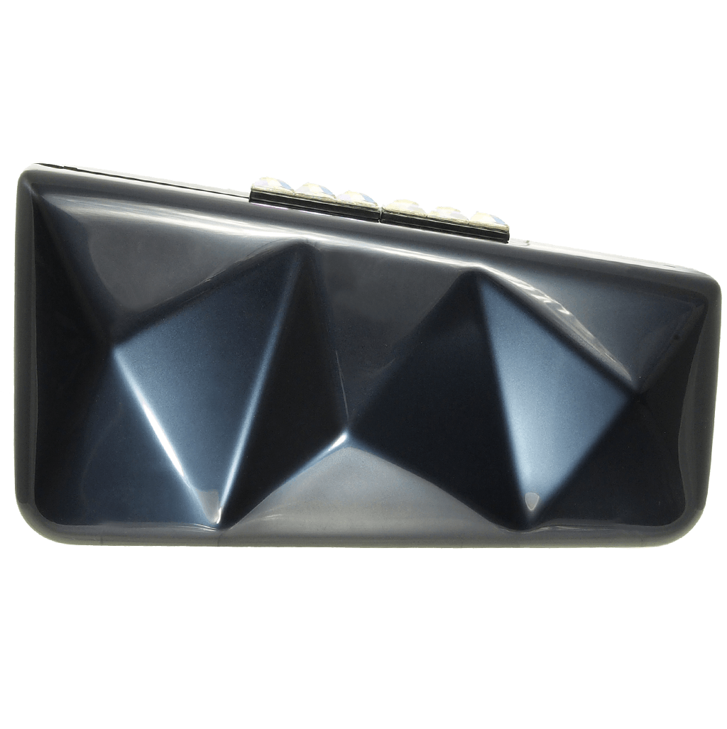 Minaudiére in Metallic Midnight Blue-Clutches-72 Smalldive