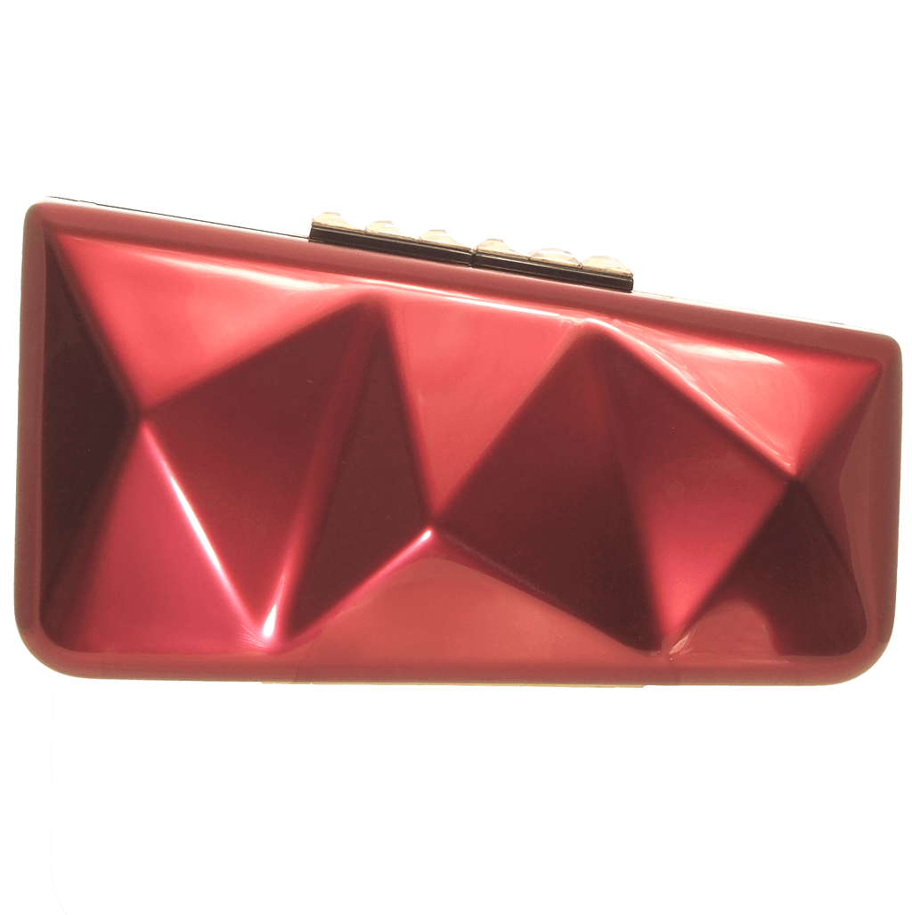 Minaudiére in Metallic Red-Clutches-72 Smalldive