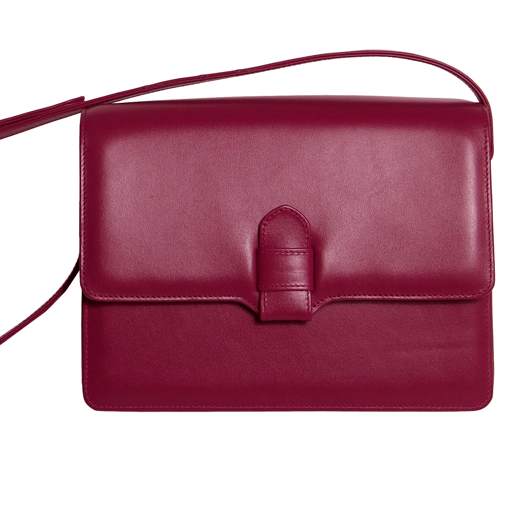 Calf Leather Shoulder Handbag Port