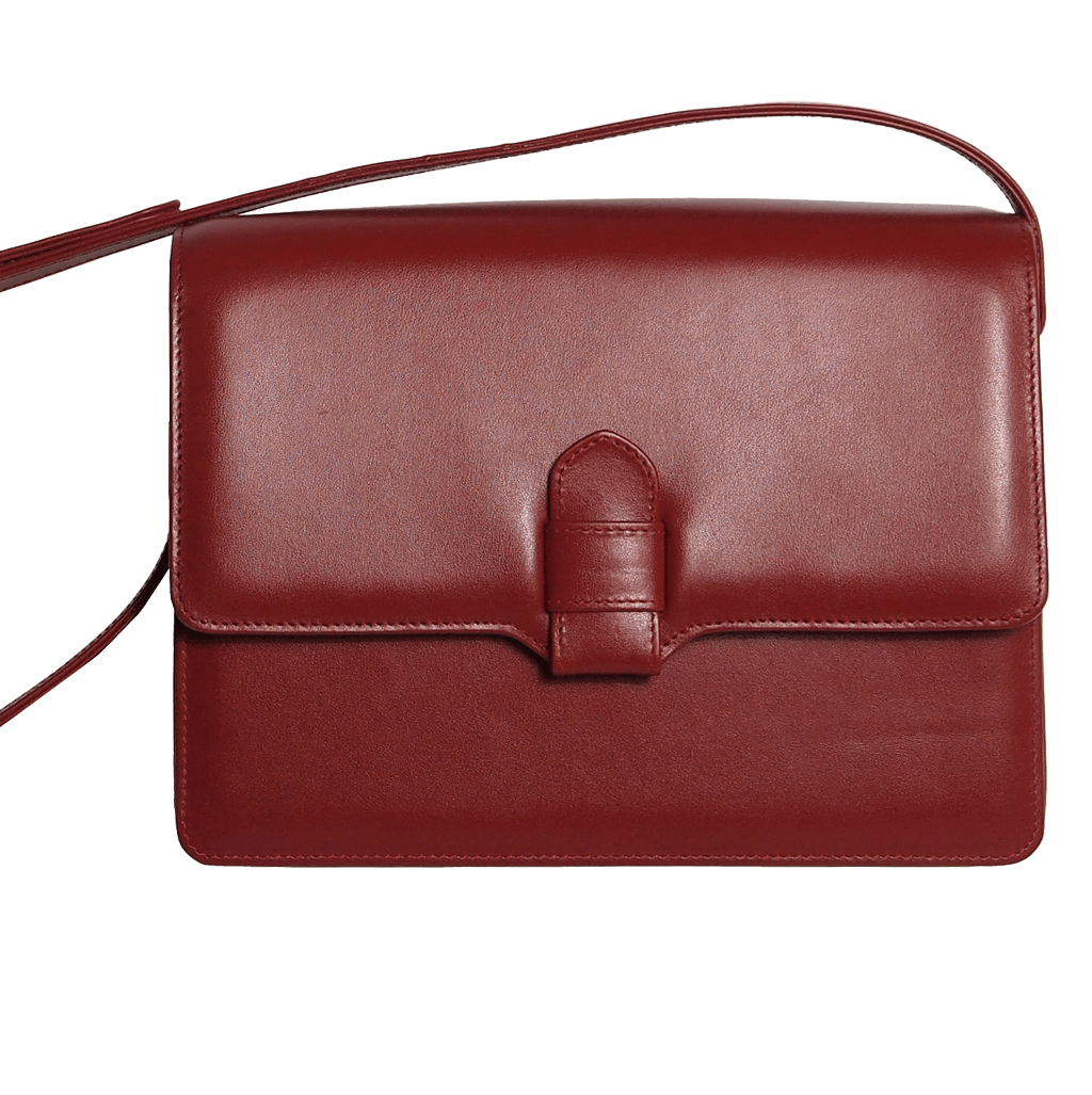 Calf Leather Shoulder Handbag Ruby-Handbag-72 Smalldive