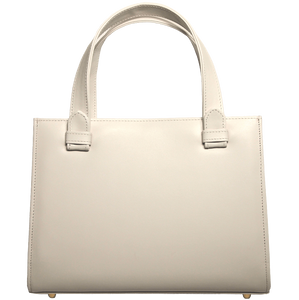 72 Smalldive Minis & Pouches Calf Leather Tote Ivory.