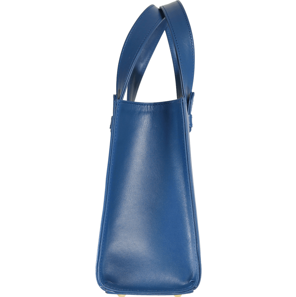 Small Calf Leather Tote - 72 Smalldive
