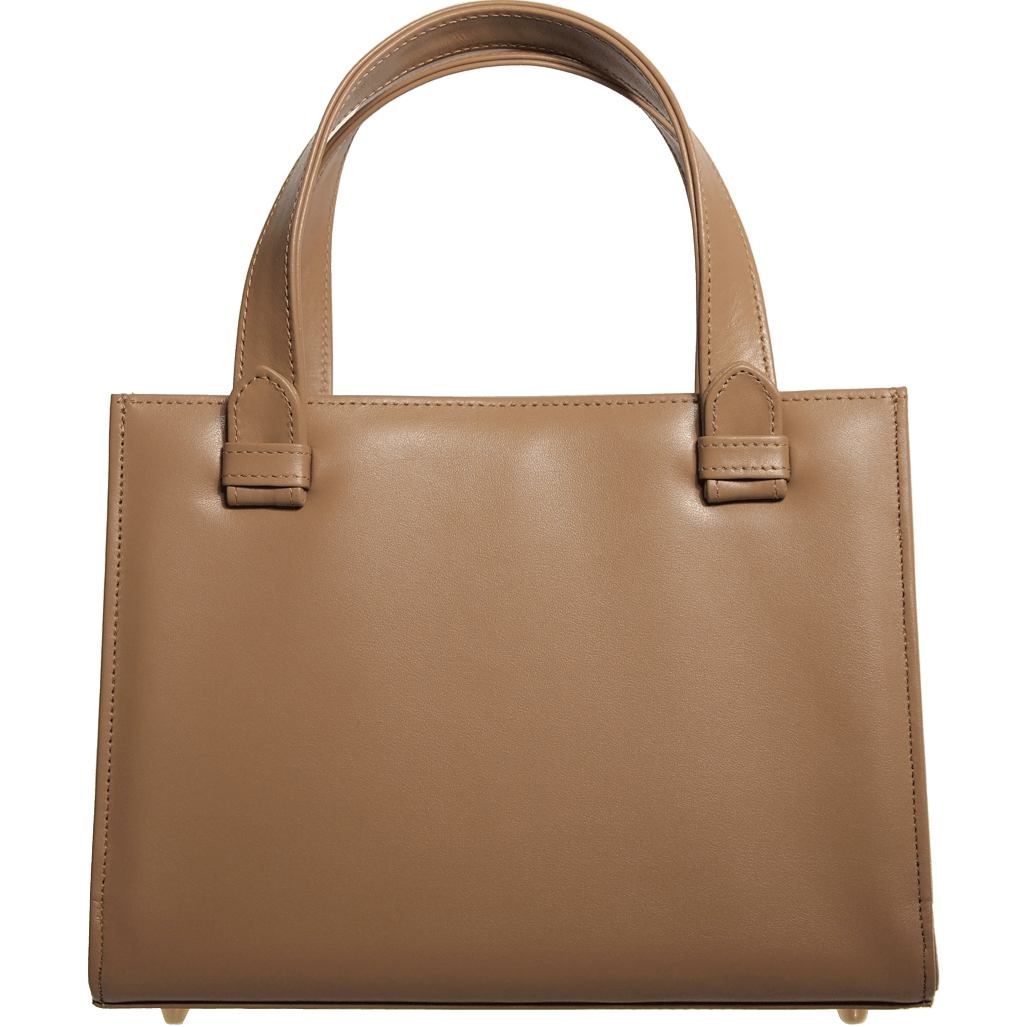 Calf Leather Tote Nut - 72 Smalldive
