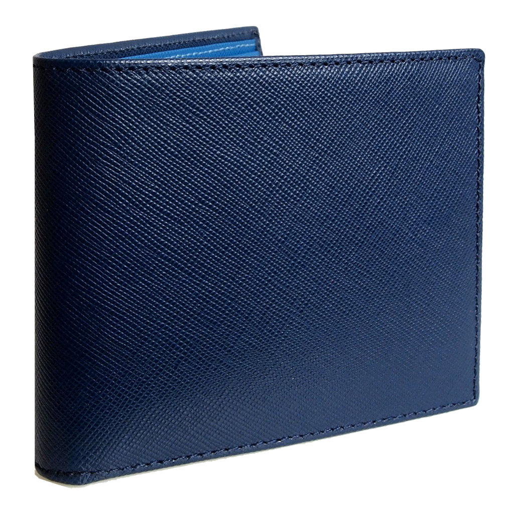 8 CC Saffiano Single Sleeve Billfold-Mens Wallets-72 Smalldive