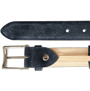 30 mm Sartorial Suede Belt Navy-Mens Belts-72 Smalldive