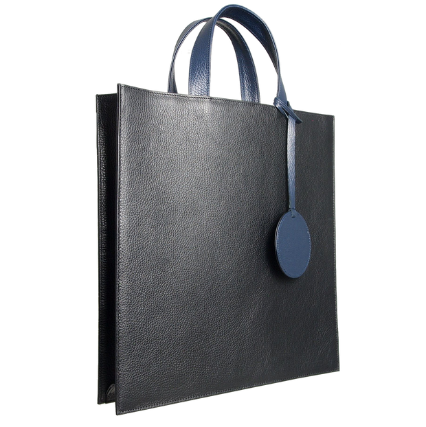 Leather Tote Bag-Custom Order-72 Smalldive