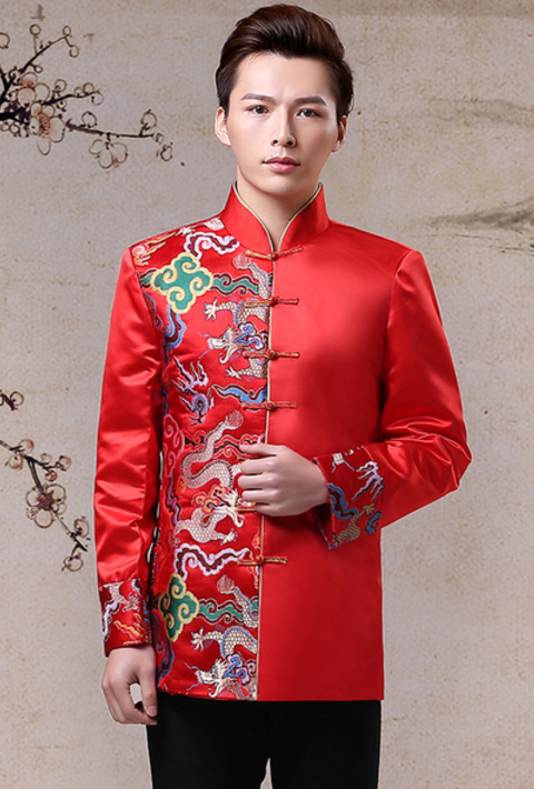 11152ac4acf2 Wedding jacket top suit Chinese men suit collection 3 – My Lovely ...
