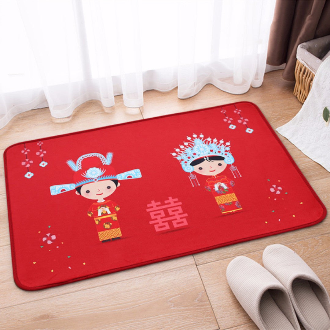 Gift Door Mat Red Cheap Affordable Best Gift Home Wedding Gift My