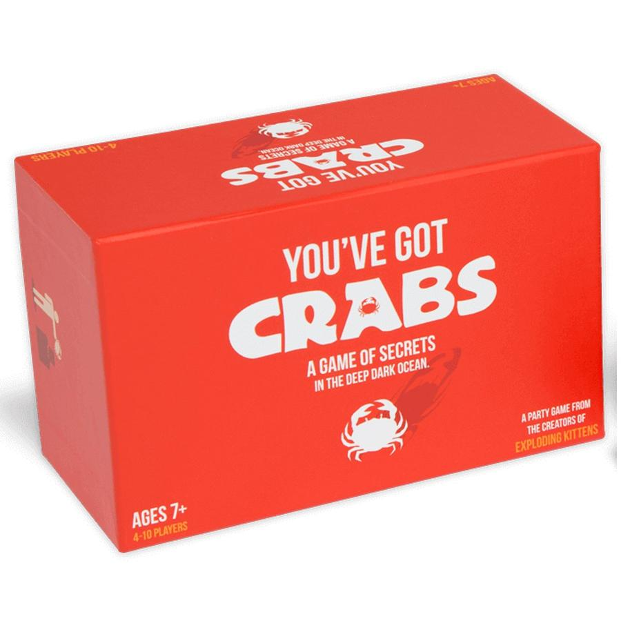 You've Got Crabs Party Card Game | Stay at Home Mum
