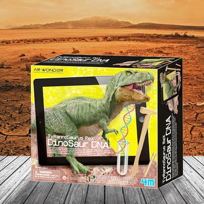 4M Augmented Reality Dinosaur DNA Kit - Yellow Octopus