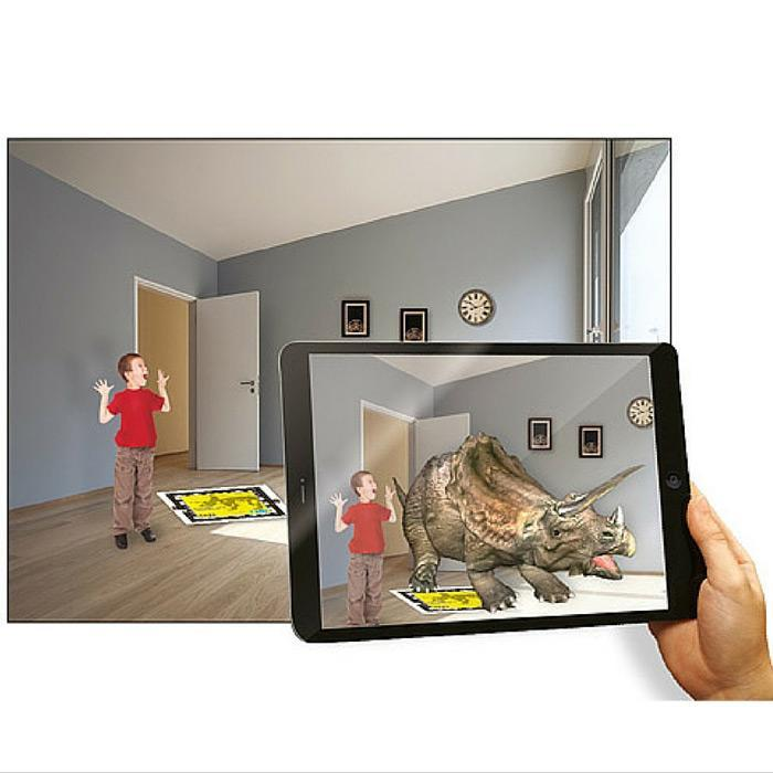 4M Augmented Reality Dinosaur DNA Kit - T-Rex - 4M - Yellow Octopus