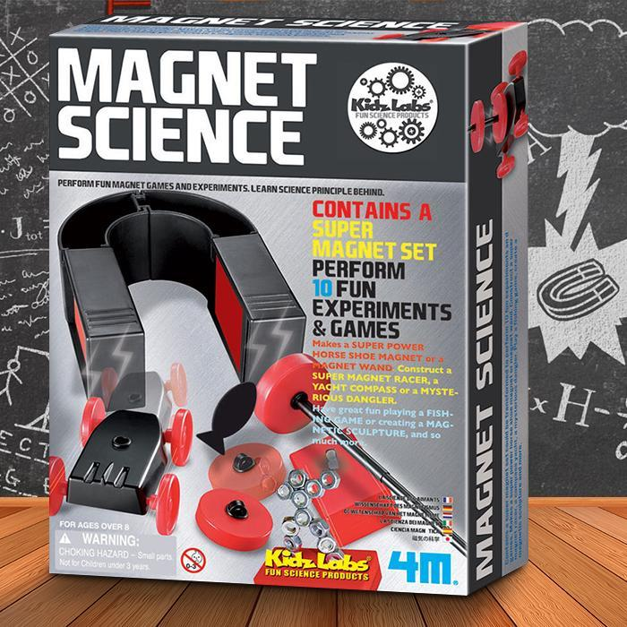 4M 4M Kidz Magnet Science Kit