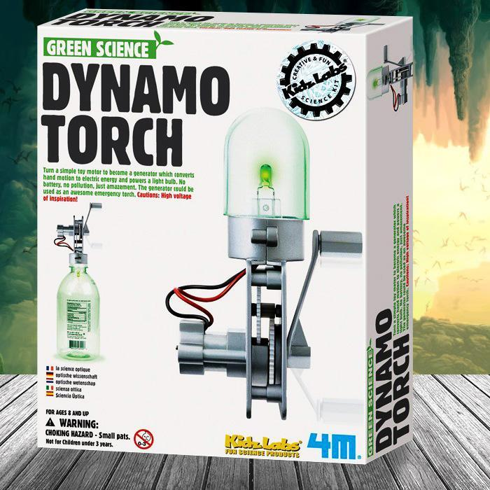 4M Build Your Own Dynamo Torch Kit