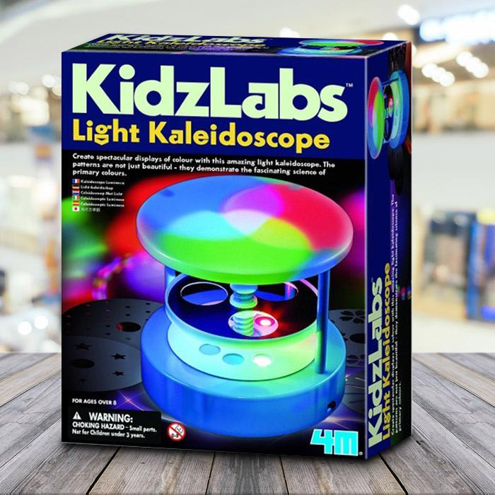 Build Your Own Light Kaleidoscope - - 4M - Yellow Octopus