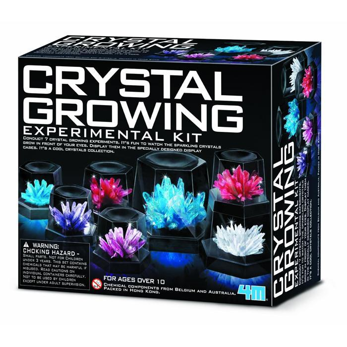 Crystal Growing Experimental Kit - - 4M - Yellow Octopus