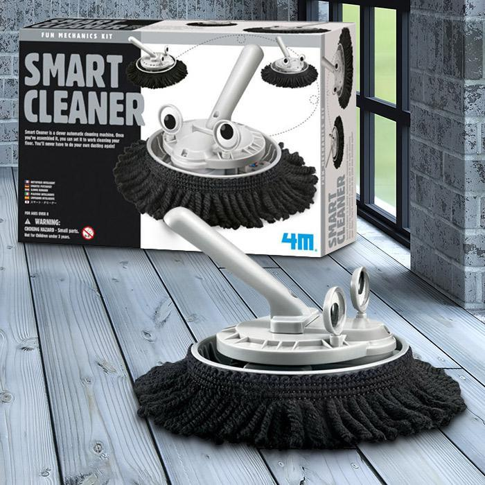 DIY Automatic Smart Cleaning Machine - - 4M - Yellow Octopus