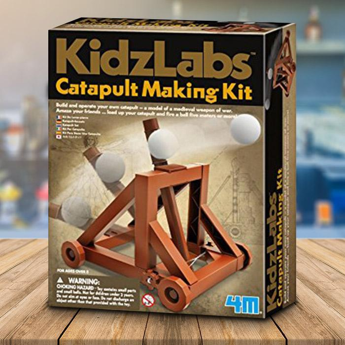 Make Your Own Catapult Kit - - 4M - Yellow Octopus