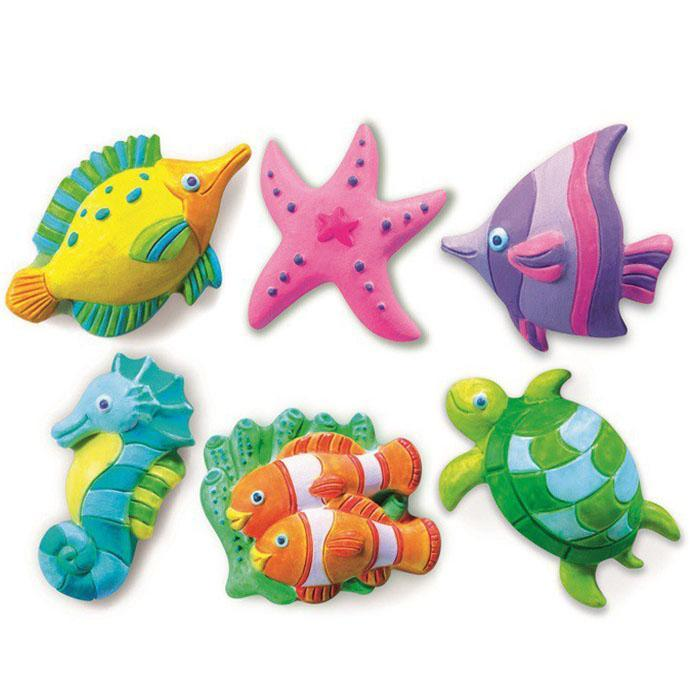4M Mould And Paint Sea Life Kit