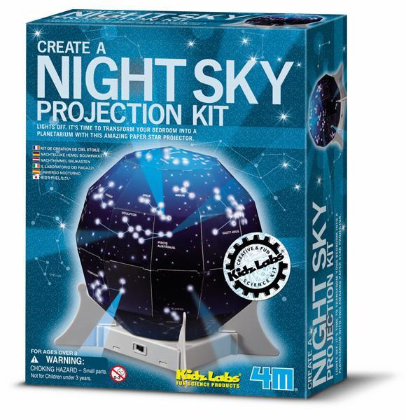 Night Sky Projection Kit | 4M - - 4M - Yellow Octopus