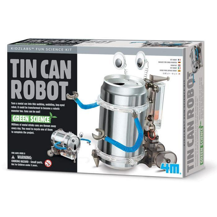 4M Tin Can DIY Robot Kit | 4M Kidz