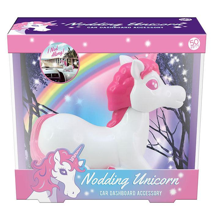 50fifty Gifts Dashboard Nodding Unicorn