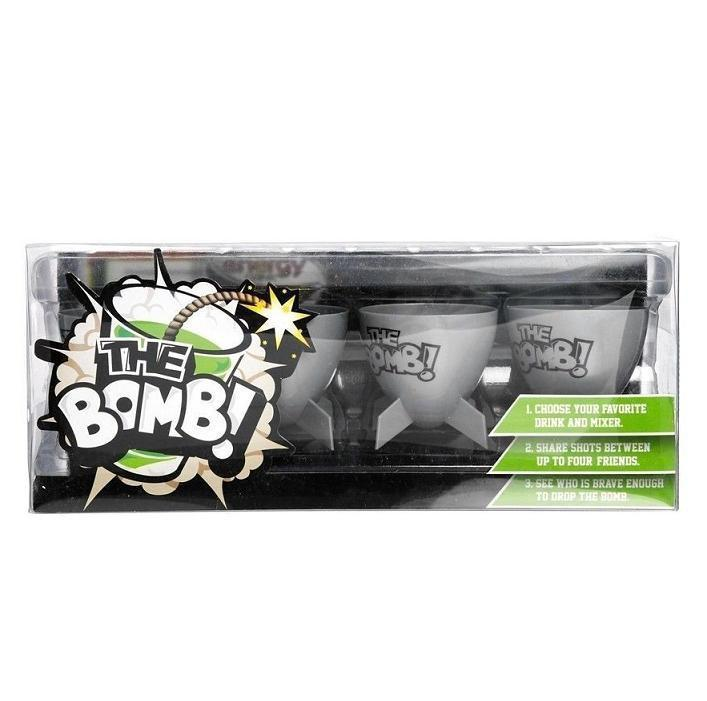 50fifty Gifts The Bomb Shot Glasses - Set of 4