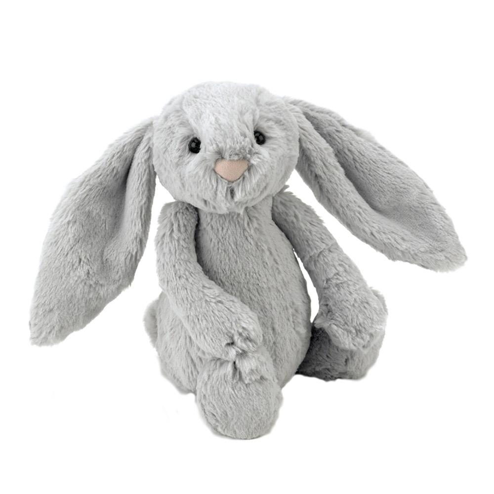 Jellycat Medium Silver Bashful Bunny