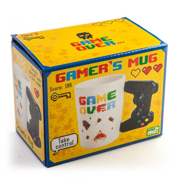 Gamer Mug Controller - - mdi - Yellow Octopus