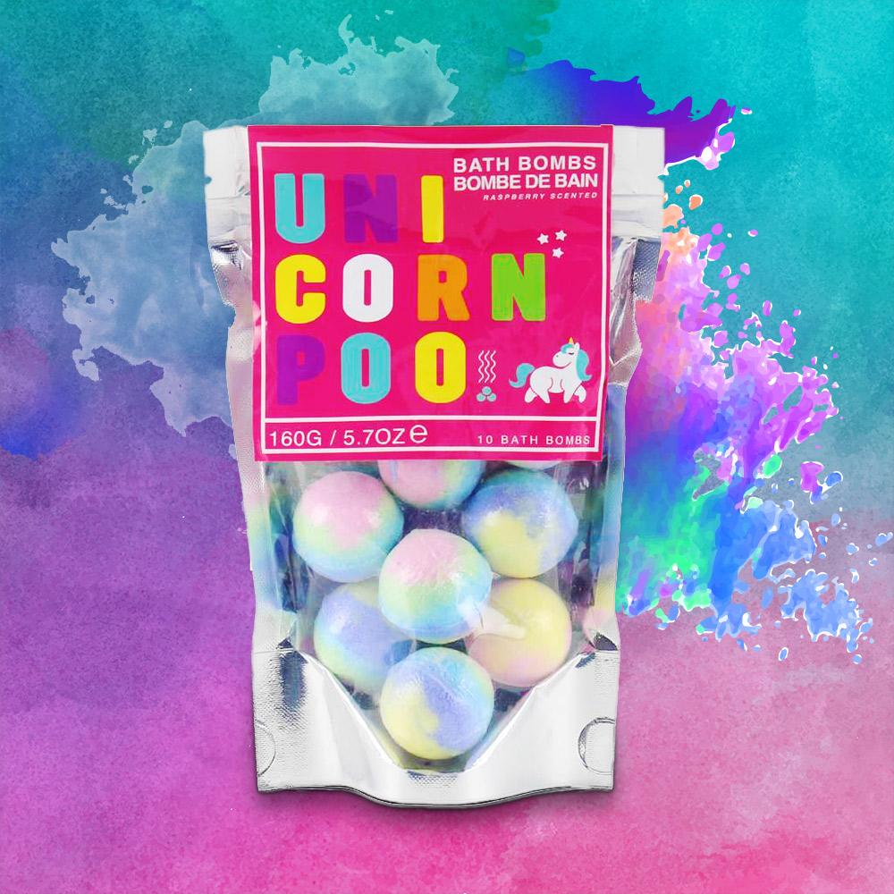 Unicorn Poo Bath Bombs - - Gift Republic - Yellow Octopus