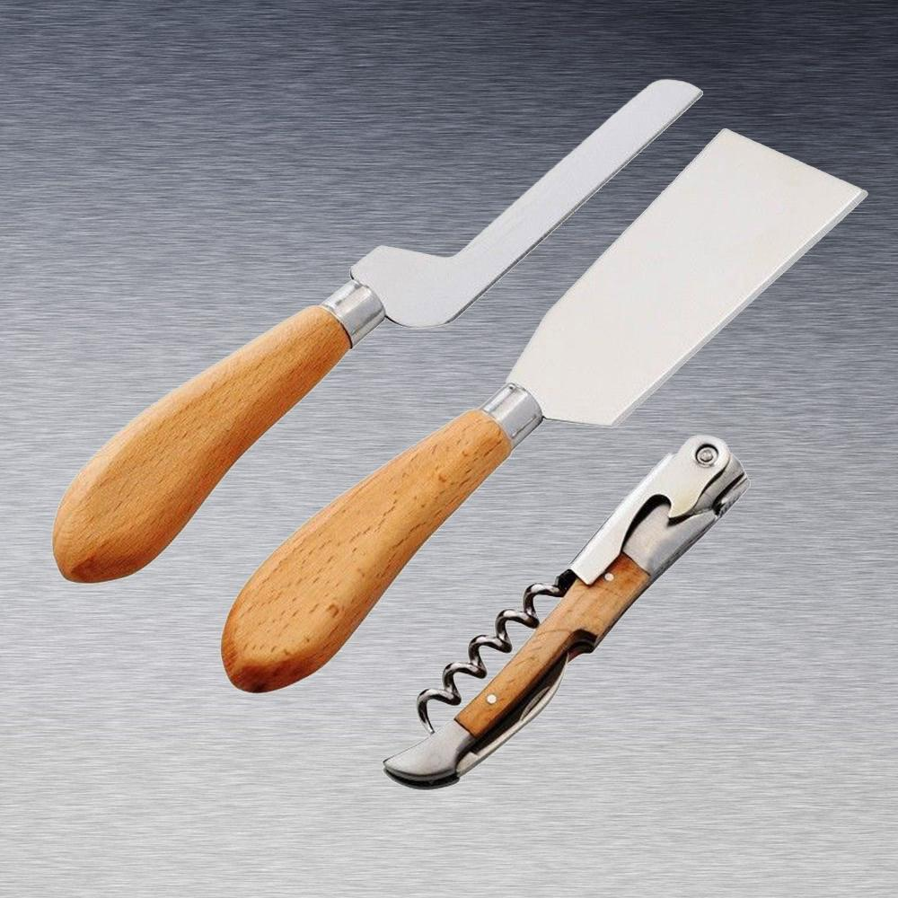 Cheese Knife & Waiter's Friend Gift Set 3pc