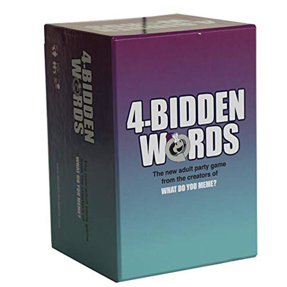 4-Bidden Words Adult Party Game - - WhatDoYouMeme - Yellow Octopus