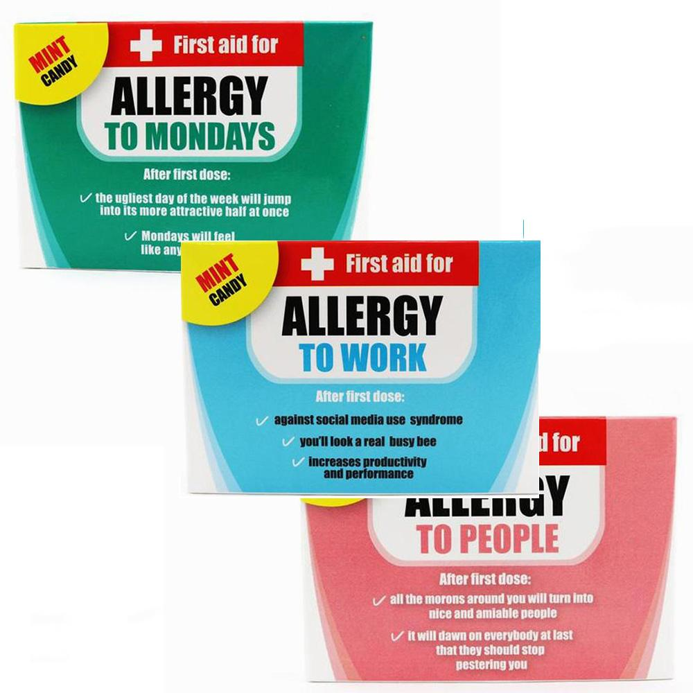 First Aid Work Allergy Mints Novelty Candy For The Office