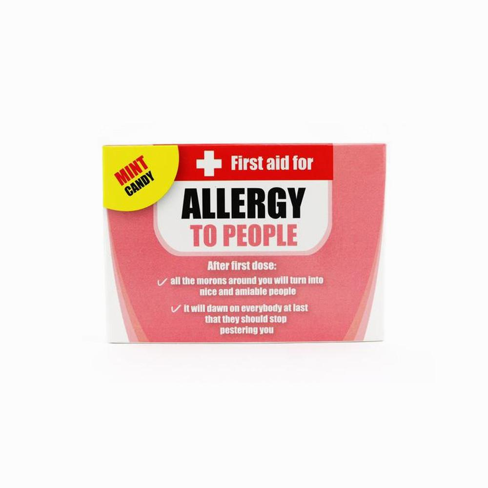 First Aid Novelty Work Allergy Mints For The Office