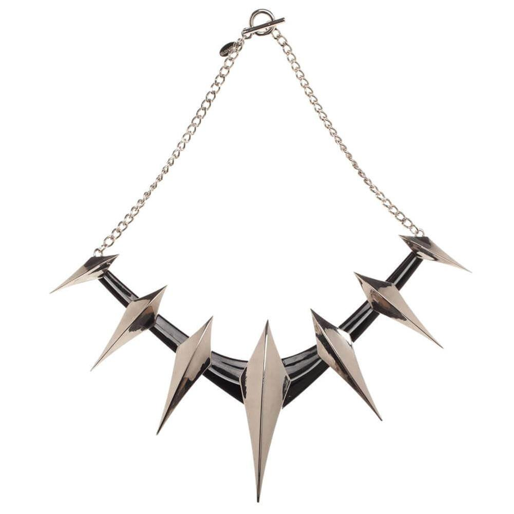 Marvel Black Panther Spike Collar Necklace