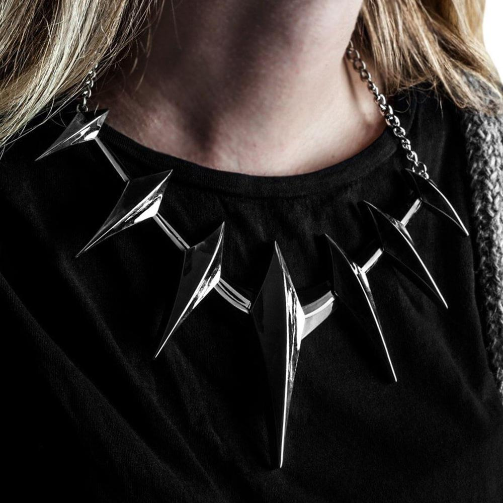 Marvel Black Panther Spike Collar Necklace - - Marvel - Yellow Octopus