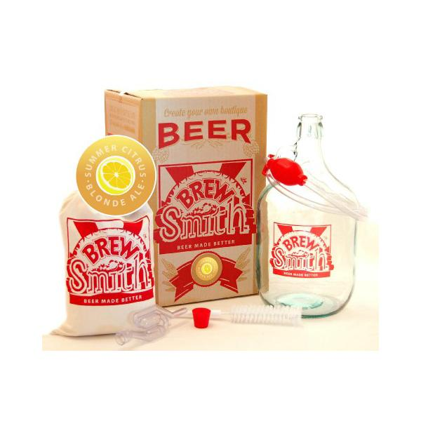 BrewSmith Craft Beer Brewing Kit - Citrus Blonde Ale - BrewSmith - Yellow Octopus