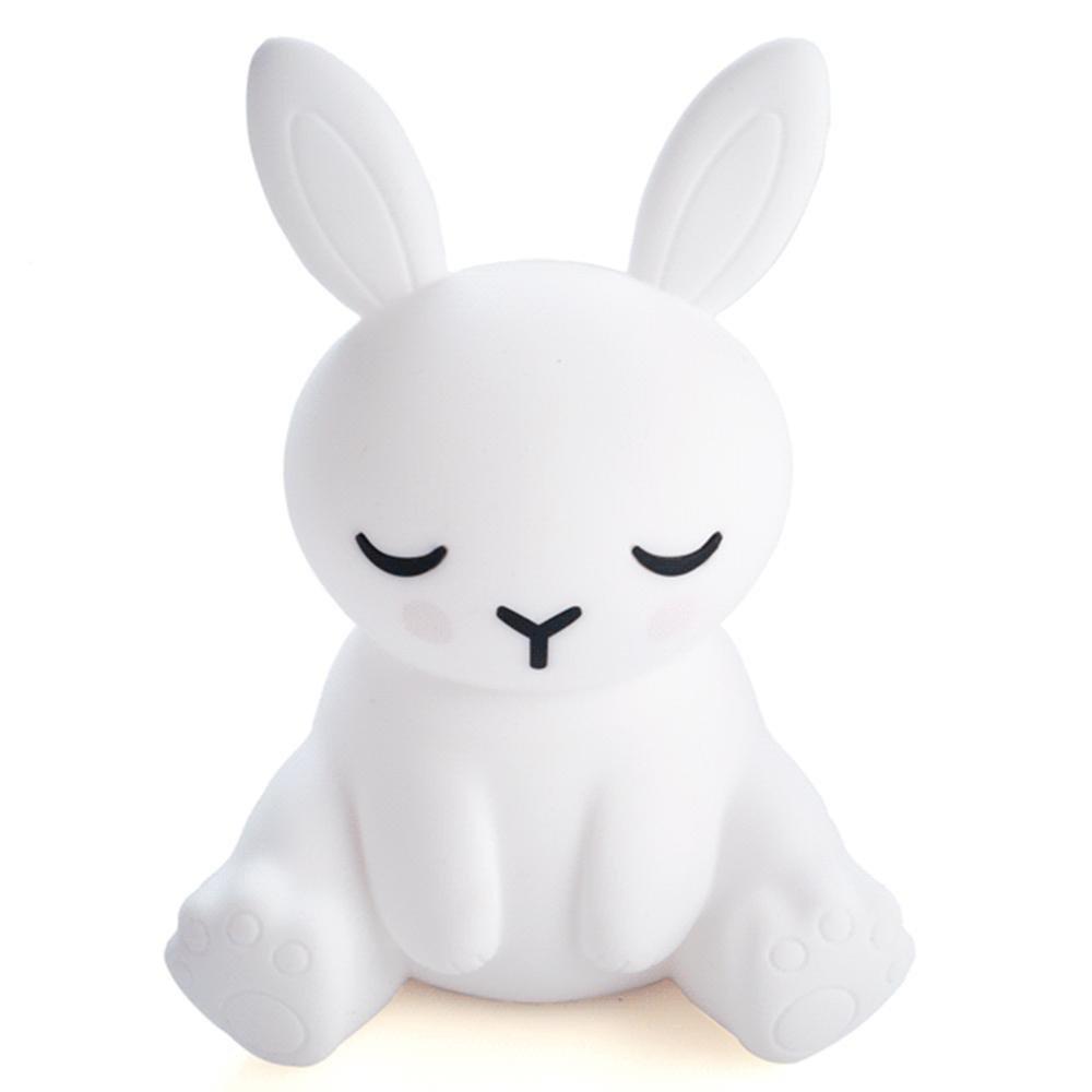 Bunny Touch-Sensitive Rechargeable LED Night Light - - mdi - Yellow Octopus