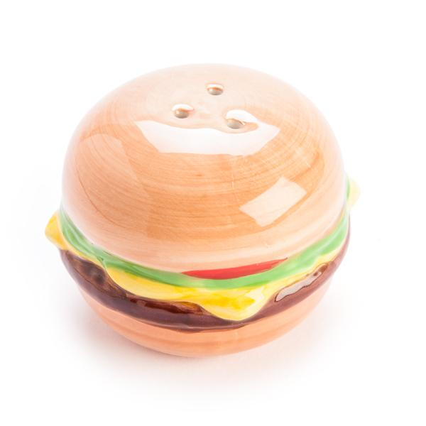 Burger & Fries Salt & Pepper Shakers - - MDI - Yellow Octopus