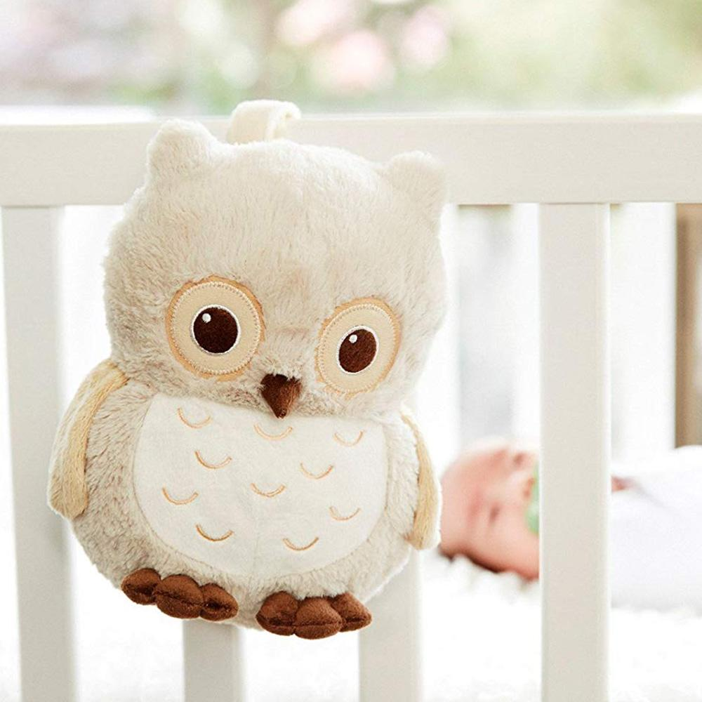 Sunshine Owl Plush Infant Sound Machine - - cloud.b - Yellow Octopus