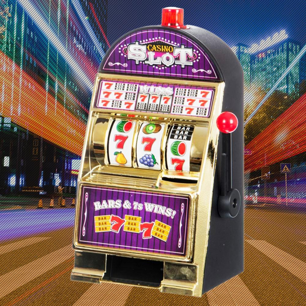 Casino Pokie Slot Machine Money Box