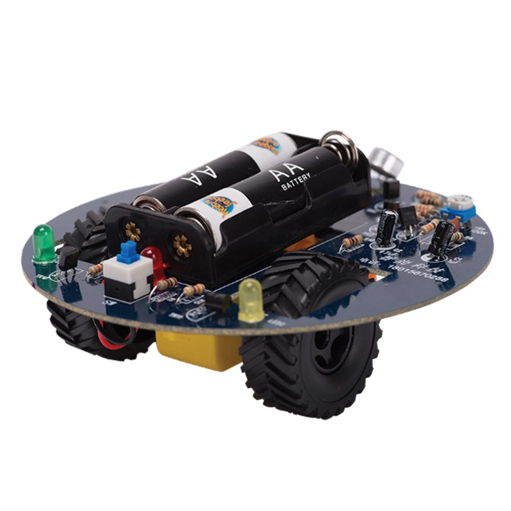 DIY Sound Sensing Robot with Soldering Iron Kit