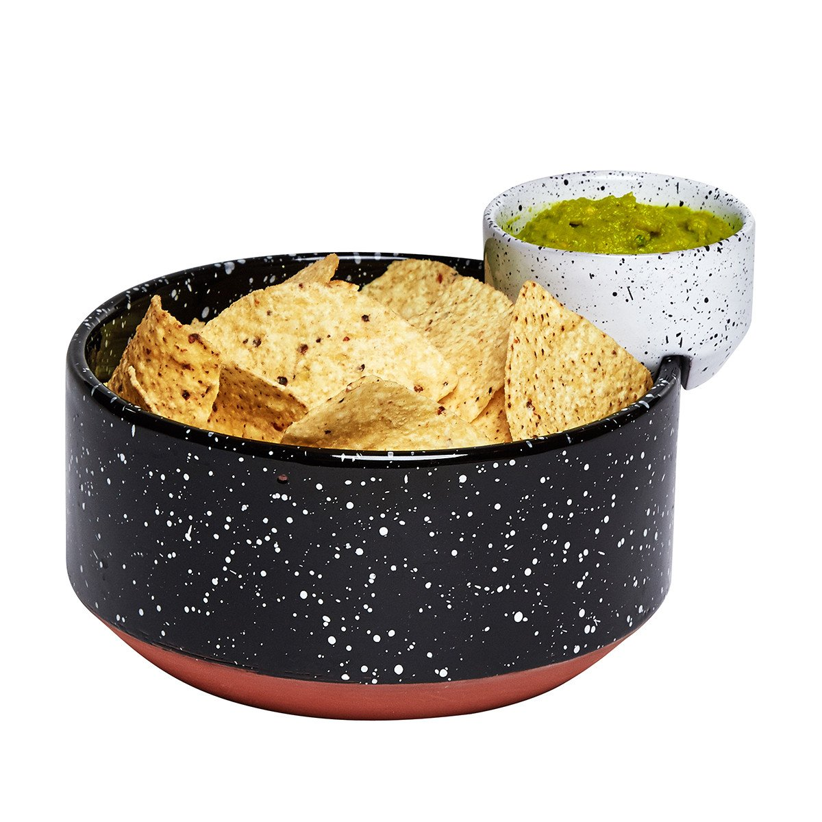 Eclipse 2-Piece Chips & Dip Serving Bowl