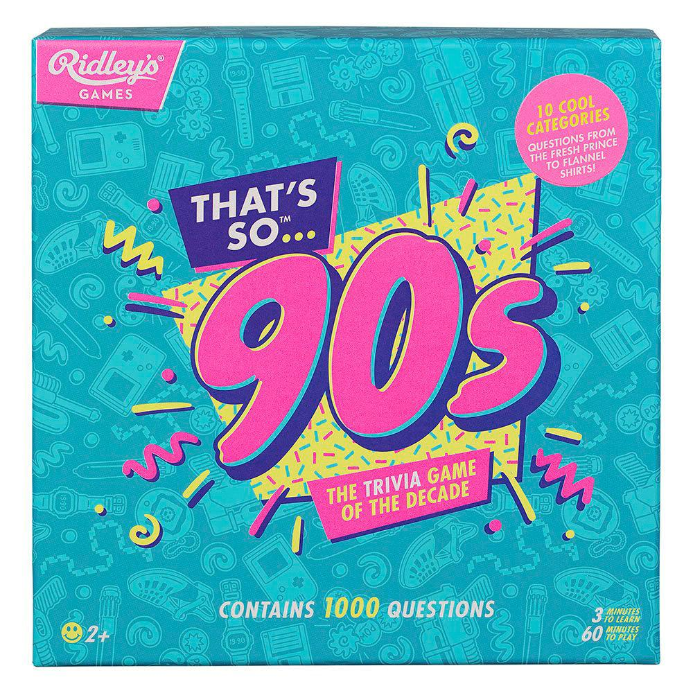 The Trivia Game of the Decade - Choose 80s or 90s - Nineties - - Yellow Octopus