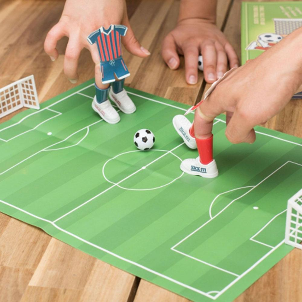 Mini Desktop Soccer Football Game - - ThumbsUp! - Yellow Octopus