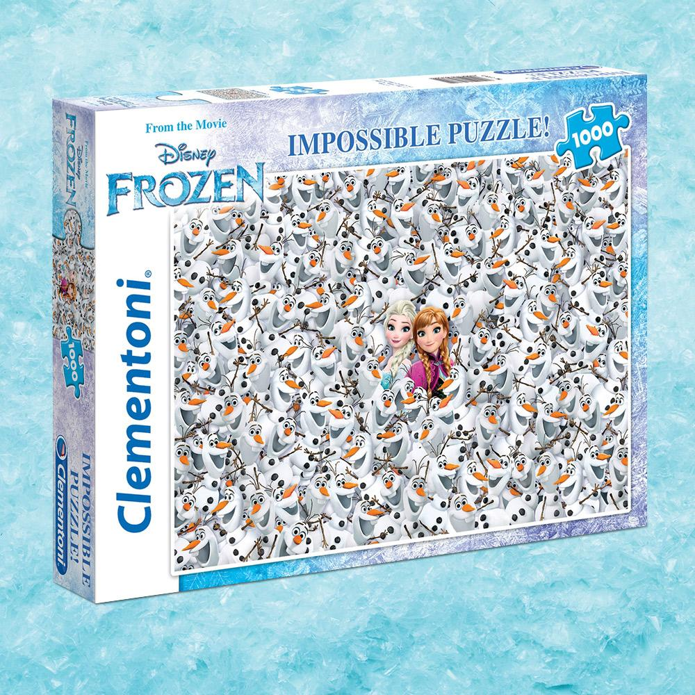 Disney Frozen Impossible Puzzle | 1000 Pieces