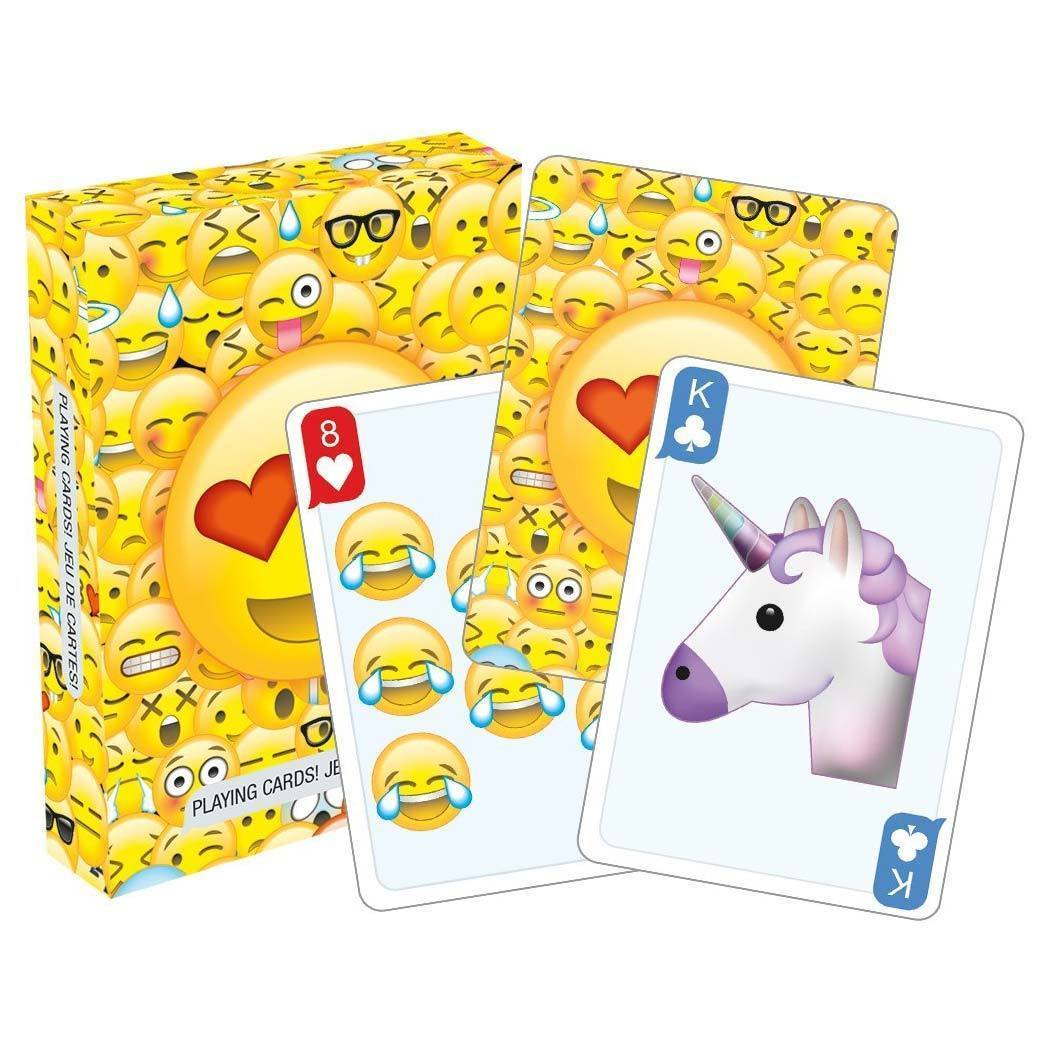 Emoticons Playing Cards - - Aquarius - Yellow Octopus