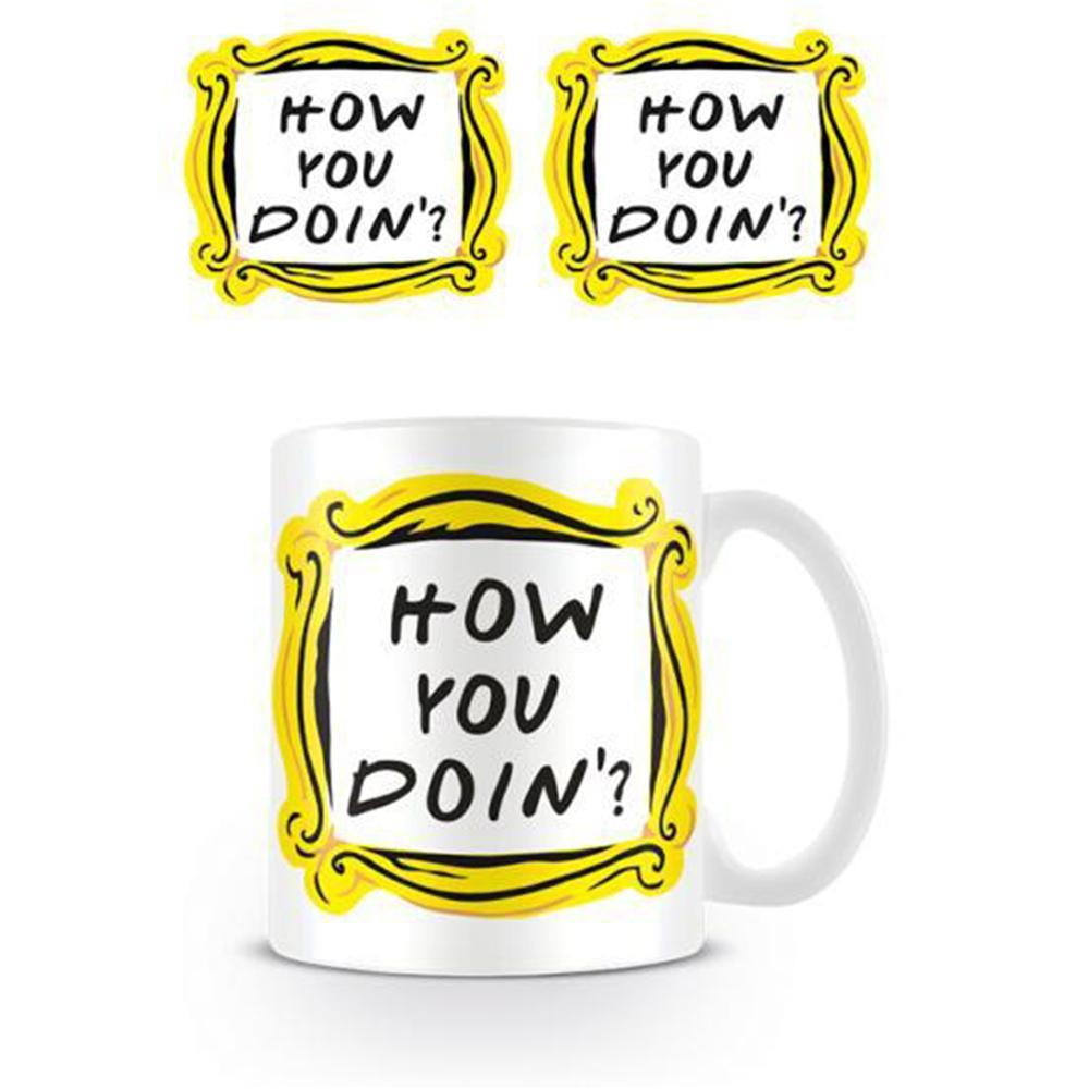 Friends TV Series 'How You Doin'?' Mug